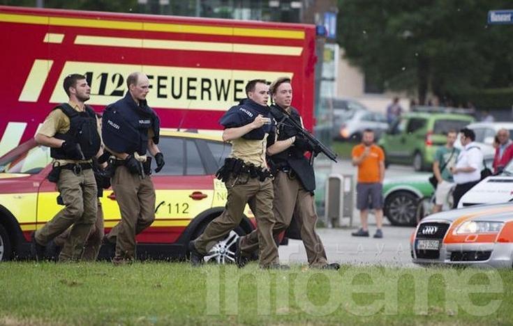 Tiroteo en Múnich: confirman al menos 9 muertos
