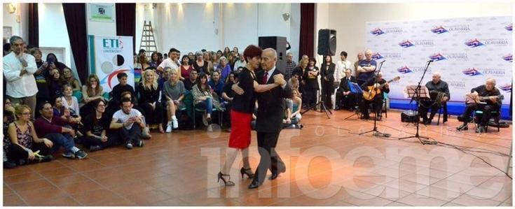 Comenzó el  encuentro de tango del interior