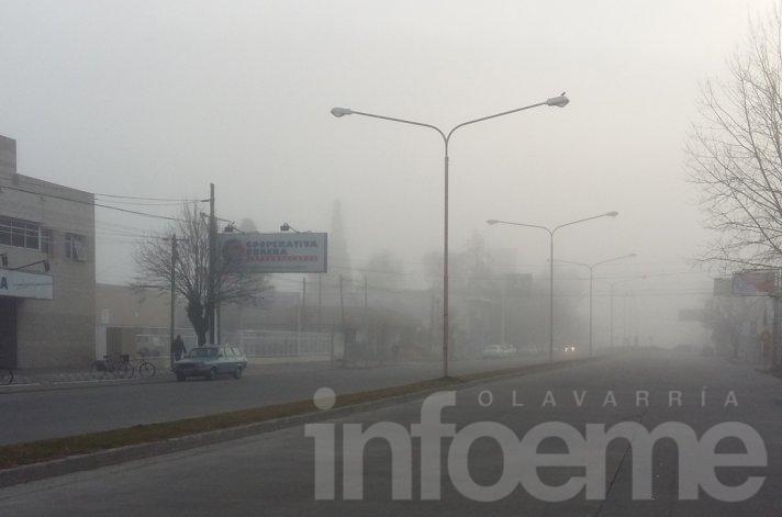 Otra mañana de niebla en la ciudad