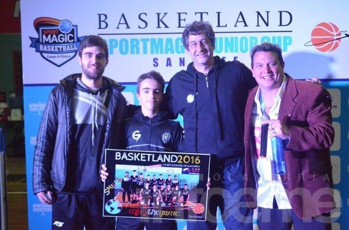 Finalizó la participación albinegra en el Basketland Sportmagic