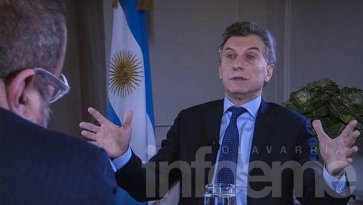 """Macri: """"Acá se acabó la joda para todo el mundo"""""""