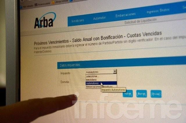 Arba lanzó nueva web para contribuyentes digitales