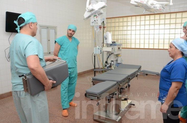 Nueva camilla quirúrgica en el Hospital Municipal