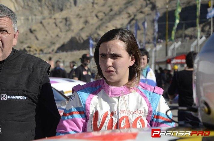 Josefina Vigo arribó 16º en San Juan
