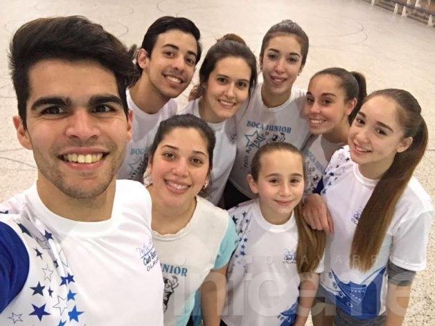 Boca Junior al campeonato argentino de patín