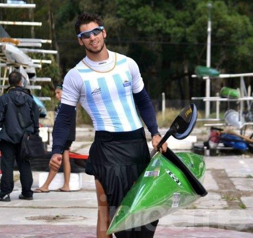 Agustin Vernice se prepara para un nuevo desafio