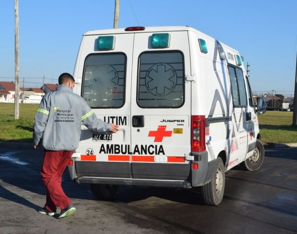 Es grave el estado del camionero accidentado