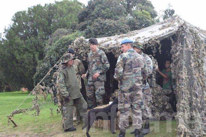 Incorporan soldados en el Regimiento