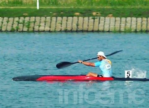 Agustin Vernice a la final del campeonato mundial Sub 23