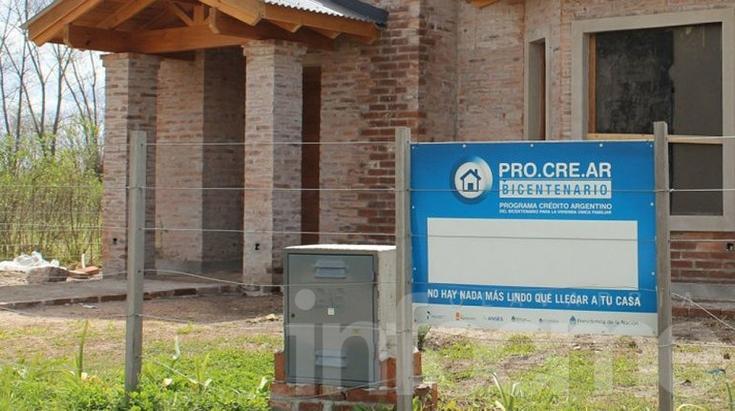 Se aprobó el PROCREAR para terminación de viviendas
