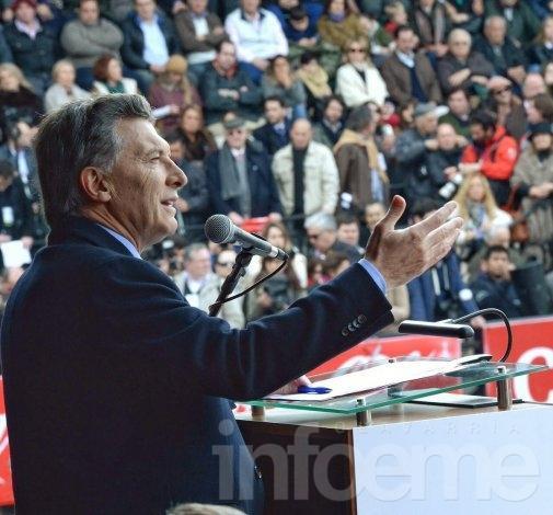 """Macri: """"Que el campo sienta que se le tiende la mano"""""""