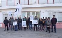 Se manifestaron frente a la empresa Nuevo Bus