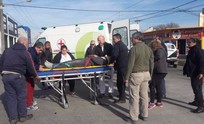 Una mujer sufrió heridas en un violento accidente