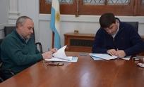 Municipio e Ingeniería firmaron convenios