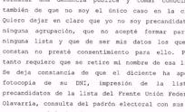 """""""Listas truchas"""": olavarriense realizó denuncia en la Justicia Federal"""