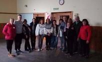 Eduardo Rodríguez recorrió Hinojo y dialogó con los vecinos