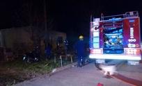 Incendio en vivienda del barrio Nicolás Avellaneda