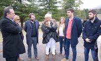 Galli y Cenizo en encuentro con el ministro de Turismo