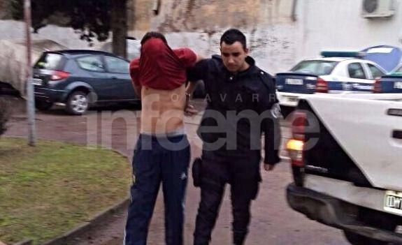 Aprehendido por robo en la vía pública resultó ser también el asaltante de la Quiniela