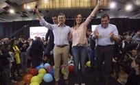 Macri y Vidal encabezaron acto de campaña en Tandil