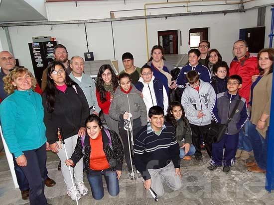 Alumnos de la Escuela 505 visitaron la Facultad de Ingeniería