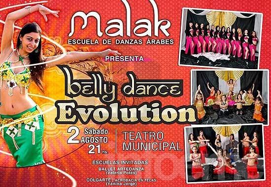 Bellydance Evolution en el Teatro