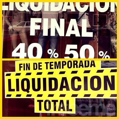 Temporada de liquidaciones (segunda parte)