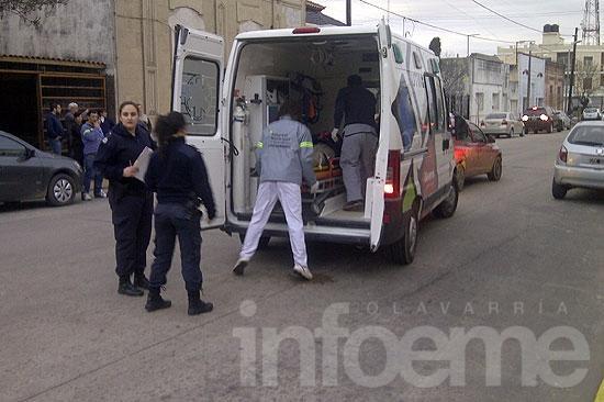 El músico Carlos Rossi resultó herido al ser atropellado