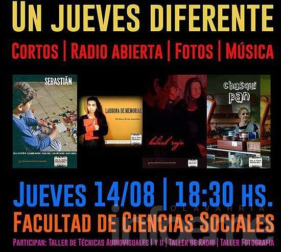 """Un """"jueves diferente"""" en la Facultad de Ciencias Sociales"""