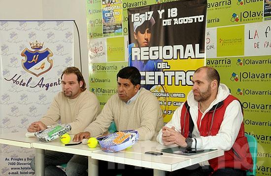 """Se presentó el torneo """"Regional del Centro"""""""