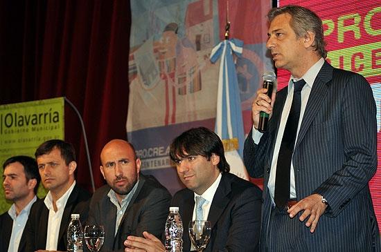 Eseverri y Bossio firmaron acuerdo para venta de lotes