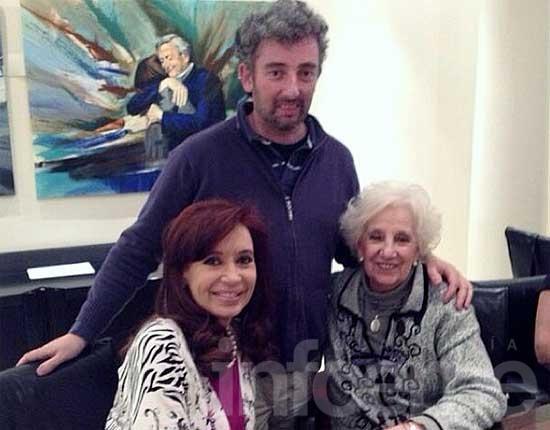 El encuentro íntimo de Ignacio Hurban con Cristina en Olivos
