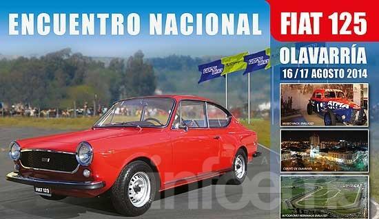 Olavarría será sede del 2º Encuentro Nacional de Fiat 125