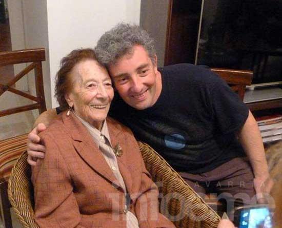 Ignacio Hurban conoció a su abuela paterna, Hortensia Ardura