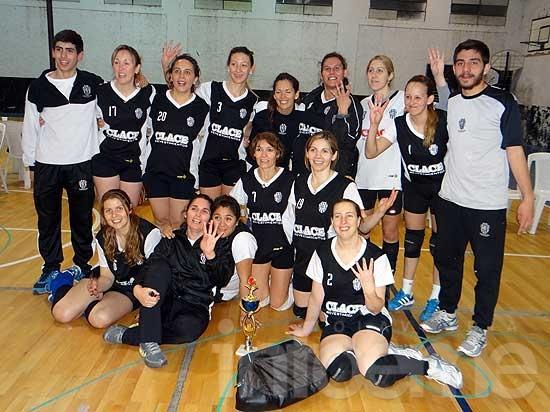 Las chicas de Estudiantes volvieron a ser campeonas