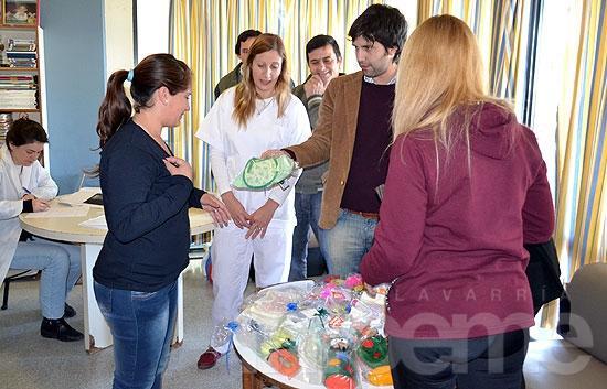 Los niños internados en el Hospital Municipal recibieron juguetes por el Día del Niño