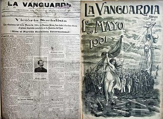 """Se inaugura la muestra """"120 aniversario de la vanguardia"""""""