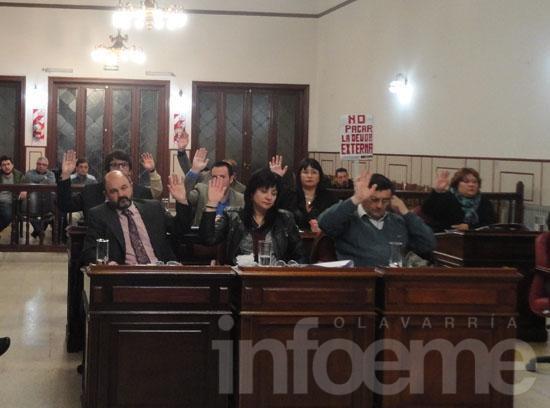 Oficialismo impuso mayoría para remover al tesorero municipal