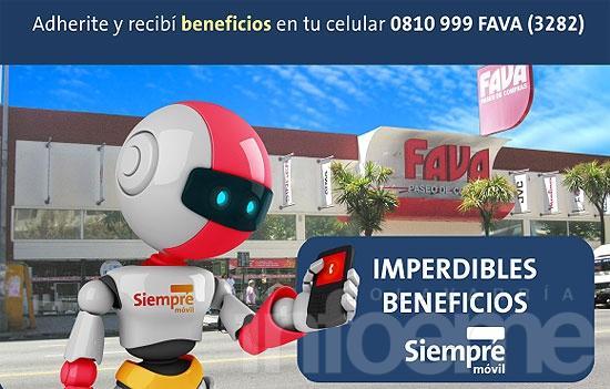 20% de descuento en Autoservicio con tarjeta Favacard