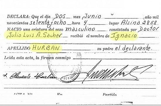 La casa de Aguilar figura en el acta de nacimiento de Ignacio