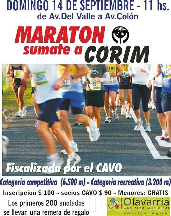 Maratón Sumate a CORIM