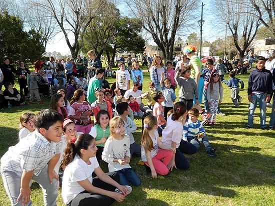 Festejaron el Día del niño en Espigas