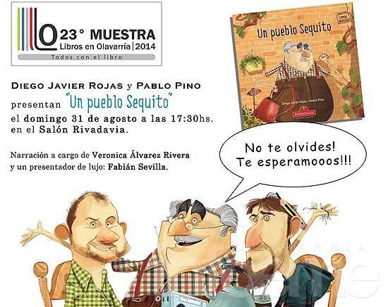 Diego Rojas y Pablo Pino presentan su nuevo libro