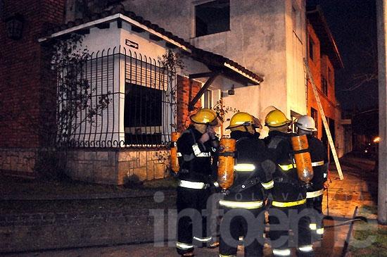 Dos mujeres en grave estado por el incendio de una vivienda