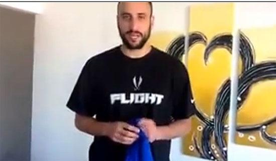 Manu Ginóbili se sumó a la maratón a beneficio de Corim