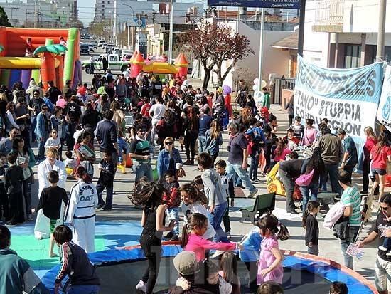 Cientos de niños festejaron con el Sindicato de Municipales