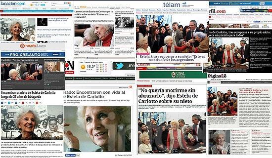 """Repercusiones en medios nacionales e internacionales tras la recuperación de """"Guido"""""""