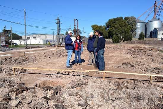 Comenzó la construcción del edificio del S.T. Nº 2