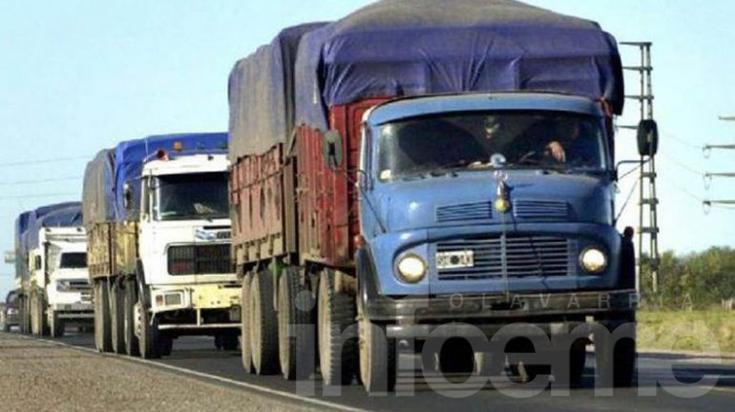 Restringen circulación de camiones por el fin de las vacaciones
