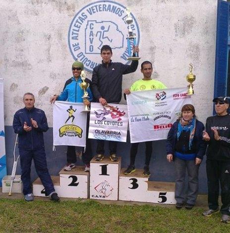 Ortiz y Luisetti ganaron en la jornada solidaria del CAVO